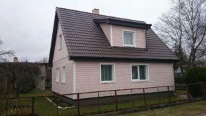 Maja renoveerimine pärast